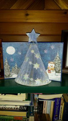 Christmas Tree Bookart