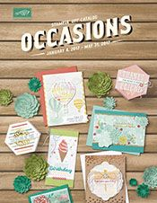 The New Occasions Catalogue, just released, Stampin' Up! Ann's PaperWorks, Ann Lewis, Stampin' Up! Online Paper, Stampin Up Catalog, Fun Fold Cards, Easel Cards, Envelope Punch Board, Artisanal, Pinwheels, Making Ideas, Wedding Cards