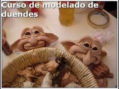 Curso modelado duendes artesanales articulados! - YouTube