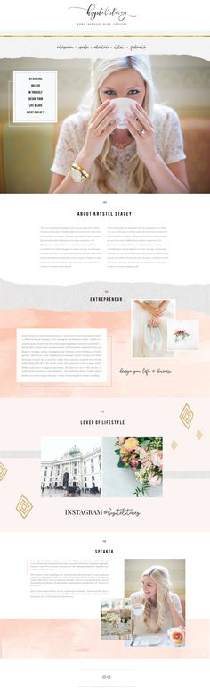 Web Design by Lindsey Eryn Clark of Third Story Apartment.   Project: Branding and Web Design.  Platform: Squarespace   #WebDesignLayout #WebLayout #FemaleEntrepreneur #CreativeEntrepreneur
