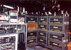 Eddie Van Halen 1986 Touring Rig