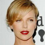 charlize theron blonde updo hairstyle with side bangs Charlize Theron Short Hairstyles 2014 Side Bangs Hairstyles, Trendy Hairstyles, Wedding Hairstyles, Updo Hairstyle, Bang Hairstyles, Homecoming Hairstyles, Party Hairstyles, Ombré Hair, New Hair