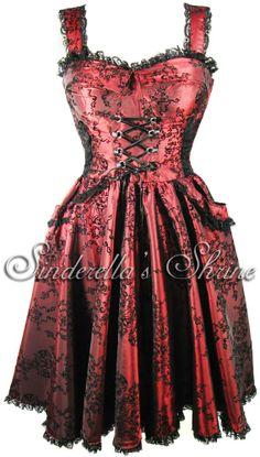 spin-doctor-thorne-wine-taffeta-corseted-steampunk-dress-[5]-1241-p.jpg (568×1000)