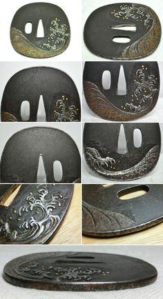 TSUBA | ... の図象嵌 刀装具骨董tsuba 買いたい|劇的な体温週末