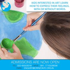 "As Pablo Picasso once said, ""Every child is an artist."" At Orrizonte Montessori we let your child's inner artist flourish."