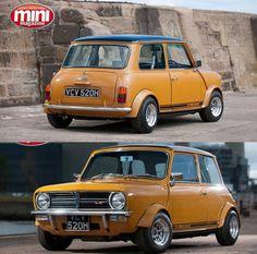 Bitchin Mini via mini magazine … Mini Cooper S, Mini Cooper Classic, Classic Mini, Classic Cars, Mini Lifestyle, John Cooper Works, Mini Clubman, Bmw, Automobile