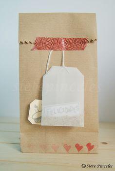 tutorial bolsa de te hecha a mano regalos tea diy