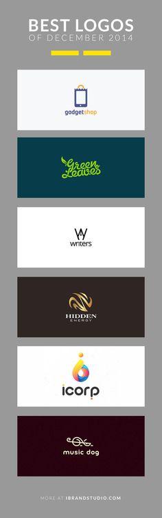 Best Logos of December 2014 #logo #inspiration