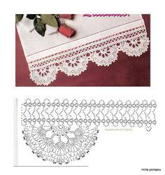 crochet - bicos - barrados - edgings - Raissa Tavares - Веб-альбомы Picasa