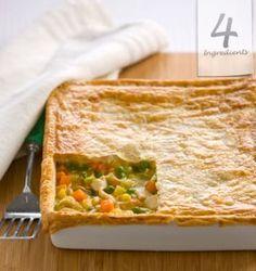 Chicken Pie | 4 Ingredients