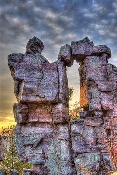 Devil's Lake State Park . Wisconsin