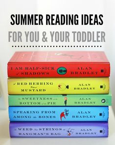 Summer Reading Ideas for You and Your Toddler - one lovely life