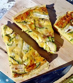 Quiche, Vegetarian Recipes, Healthy Recipes, Healthy Food, Spanakopita, Zucchini, Paleo, Food And Drink, Appetizers