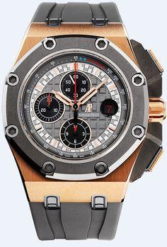 Audemars Piguet Royal Oak Offshore Michael Schumacher Limited Edition Gold Watch