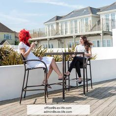 There is no better way to celebrate summer and time spent with the dearest ones. Build your own bar on your terrace in the garden and enjoy the evenings together with your family and friends! Use our Ocean bar stools to complement the atmospehere. In stock! Contact us!