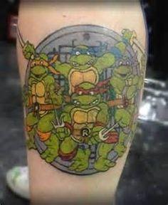 teenage mutant ninja turtles tattoos - Yahoo Image Search Results
