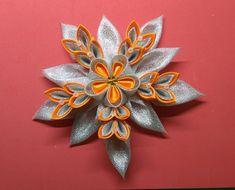 Ribbons, Brooch, Jewelry, Flowers, Crafts, Brooch Pin, Jewellery Making, Bias Tape, Jewels