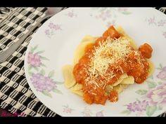 ▶ Hora da fome | Raviolli com molho rosê e linguiça de frango - YouTube