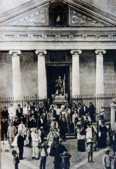 MalaStoria di Scilla: La Chiesa Madre tra i terremoti del 1894 e 1908