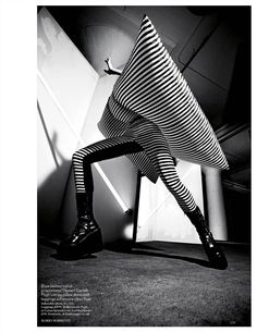 NOIR FAÇADE - The place for fashion editorials. - Beautiful Stranger | Aymeline Valade by Mario Sorrenti for Vogue UK March 2012