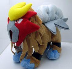 Pokemon Entei 10-Inch Plush Doll $16.95 ShadowAnime.com