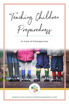 Do your children know what they need to do in case of an emergency? In the event of an emergency, we, as adults, have a checklist in our heads of actions that we need to take. So teaching children to b