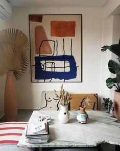 Ma visite dans le magnifique showroom & atelier de à Marrakech. Home Interior Design, Interior Architecture, Interior And Exterior, Interior Decorating, Marrakech, Turbulence Deco, Architectural Digest, New Wall, My New Room