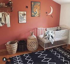 Terracotta and white Baby Bedroom, Nursery Room, Kids Bedroom, Bedroom Decor, Kids Bed Linen, Baby Nursery Neutral, Baby Room Design, Red Rooms, Boho Room
