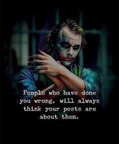 Top 101 Best Joker Quotes In English With Joker Images in Best Joker Quotes in Hindi and English Font 2020 : If you want to get the Top 101 Joker. Swag Quotes, Karma Quotes, Reality Quotes, Mood Quotes, Wisdom Quotes, Life Quotes, Hindi Quotes, Quotes Quotes, Silence Quotes
