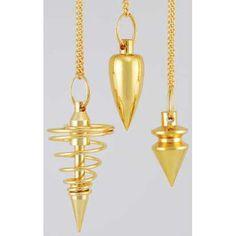 Gold-Plated Brass Pendulum