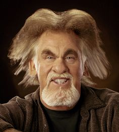 Kenny Rogers caricature | Funny Celebrity Pictures