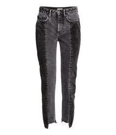 Slim Regular Ankle Jeans | Dunkelgrau | Damen | H&M DE