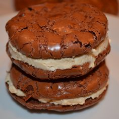 """Mexican Chocolate Cookie Sandwiches with Tiramisu Mascarpone {Gluten-Free, Nut-Free} - I may use it w/an almond """"whipped cream"""" in the middle which makes the nut-free part moot, but it will work for my needs."""