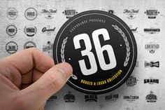 36 Badges & Logos Collection