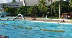 """""""Sport Club do Recife"""". Parque Aquático. Recife. Estado de Pernambuco, Brasil."""