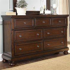 Ashley Furniture Porter 7 Drawer Dresser, $549 Wayside