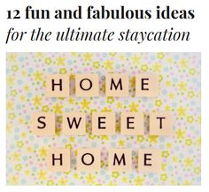 Saving money? Enjoy these 12 fun & fabulous ideas for the ultimate staycation - http://experthometips.com/2015/05/26/12-fun-and-fabulous-ideas-for-the-ultimate-staycation/