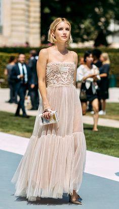 Shop for gifts at Moda Operandi. Emma Roberts Hair, Emma Roberts Style, Elegant Dresses, Beautiful Dresses, Nice Dresses, Formal Dresses, Paris Couture, Feminine Dress, Vogue