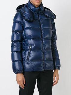 Moncler 'berre' Padded Jacket - La Casa Moda - Farfetch.com