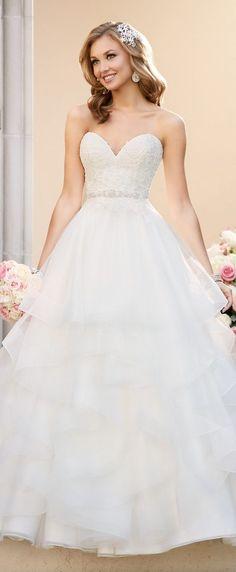 50 Fabulous Sweetheart Wedding Dresses | Stella York Fall 2016 Wedding Dress