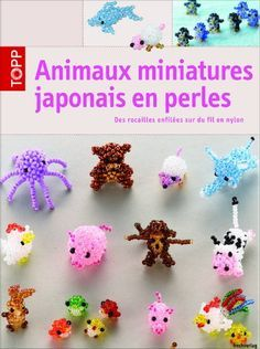 """I recently bought a cute book, """" japanese miniature beaded animals """", it's a French translation of a German book and possibly a translation..."""