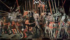 Paolo Uccello 016 - The Battle of San Romano - Wikipedia, the free encyclopedia