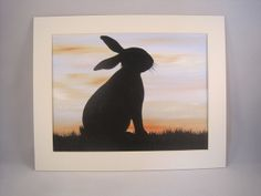 Rabbit Painting £15.00