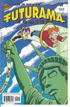 Bongo Comics Presents Futurama Comics #9 (May 2002, Bongo) 8.5 VF