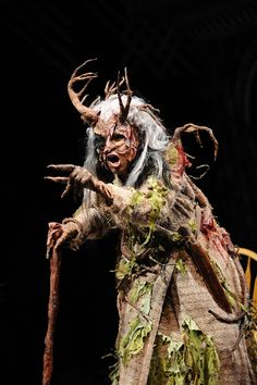 Angela Robinson as Witch in the Alliance Theatre production of Into the Woods. Costume design by Lex Liang.