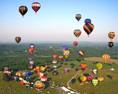 Hot air balloon festivle