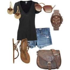 """""""Summer relaxing"""" by mandys120 on Polyvore yes. just yes. can it be summer please?!?!"""