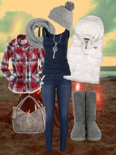 What to Wear for Bonfire Party? 18 Cute Bonfire Night Outfits - Home Cute Teen Outfits, Outfits For Teens, Party Outfits, Stylish Outfits, Fall Winter Outfits, Autumn Winter Fashion, Winter Gear, Bonfire Night Outfits, Bonfire Outfit Fall