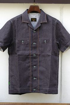 Shirt would be better with wooden buttons.