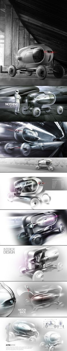 Mercedes-Benz Capsule concept by Jason Chen